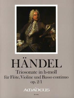 Sonate en Trio en Si Mineur Opus 2 N°1 HAENDEL Partition laflutedepan