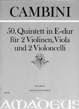 Quintett Nr. 50 in E-Dur -Partitur + Stimmen laflutedepan