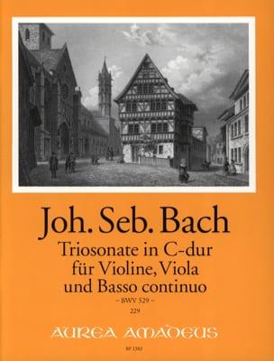 Triosonate C-Dur BWV 529 - BACH - Partition - Trios - laflutedepan.com