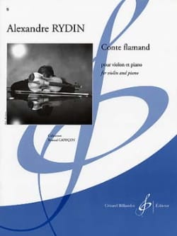 Alexandre Rydin - Conte Flamand - Partition - di-arezzo.fr