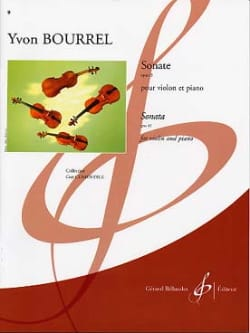Sonate op. 43 - Yvon Bourrel - Partition - Violon - laflutedepan.com