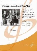 Wolfgang Amadeus Mozart - Quartetto n° 4 en ré majeur (KV 311) –Flûte et trio à cordes - Partition - di-arezzo.fr