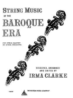 String Music of the Baroque Era - Partition - laflutedepan.com