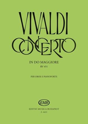 Concerto In Do Maggiore Per Oboe And Piano Rv 451 - laflutedepan.com