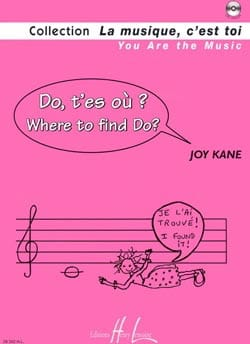 Do t'es où ? Joy Kane Partition Eveil musical - laflutedepan