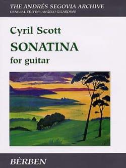 Cyrill Scott - Sonatina - Partition - di-arezzo.fr