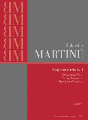 Trio à cordes n° 1 – Partitura - Bohuslav Martinu - laflutedepan.com