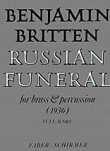 Benjamin Britten - Russian funeral – Score - Partition - di-arezzo.fr