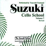 Suzuki - Cello School Vol.7 - CD Only - Sheet Music - di-arezzo.com