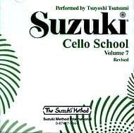 Suzuki - Cello School Vol.7 - CD Seul - Partition - di-arezzo.fr
