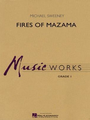 Michael Sweeney - Fires of Mazama - Partition - di-arezzo.fr