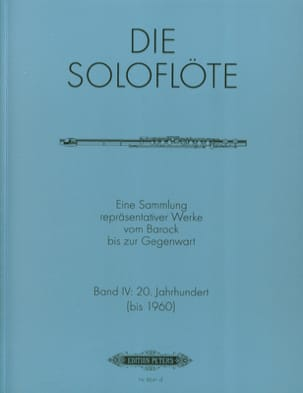 Die Soloflöte, Volume 4 20. Jahrhundert - Sheet Music - di-arezzo.co.uk