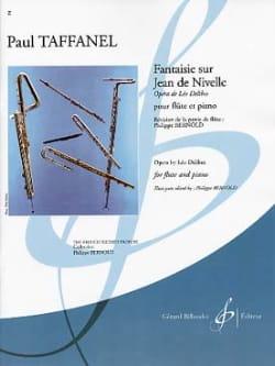 Fantaisie sur Jean de Nivelle - Paul Taffanel - laflutedepan.com