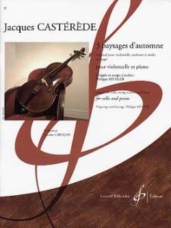 3 Paysages d'automne - Jacques Castérède - laflutedepan.com