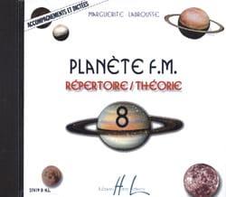 Marguerite Labrousse - CD - Planète FM Volume 8 - Accompagnements et Dictées - Partition - di-arezzo.fr
