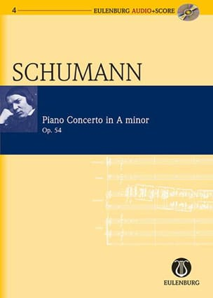 SCHUMANN - Concerto pour Piano en la Mineur Op. 54 - Partition - di-arezzo.fr