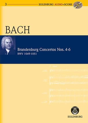 BACH - Concertos Brandebourgeois N° 4-6 - BWV 1049-1051 - Partition - di-arezzo.fr