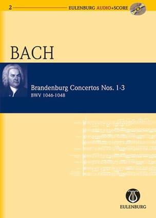 Concertos Brandebourgeois N° 1-3 - BWV 1046-1048 - laflutedepan.com