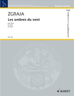 Krzysztof Zgraja - Les ombres du Vent - Flûte solo - Partition - di-arezzo.fr