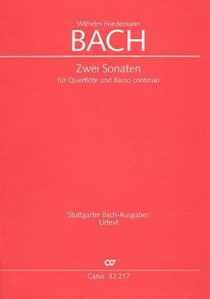 Wilhelm Friedemann Bach - 2 Sonaten in e-moll und F-Dur - Sheet Music - di-arezzo.co.uk