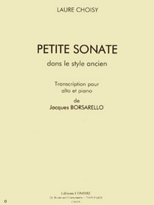 Laure Choisy - Petite sonate - Partition - di-arezzo.fr