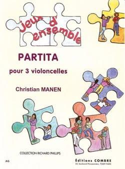 Partita Christian Manen Partition Violoncelle - laflutedepan