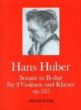 Sonate B-Dur op. 135 –2 Violinen Klavier - laflutedepan.com