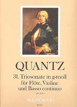 Triosonate Nr. 31 g-moll QV 2:35 - Flöte Violine Bc - laflutedepan.com