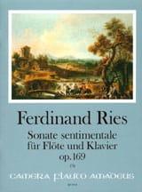 Sonate sentimentale op. 169 - Flöte Klavier laflutedepan