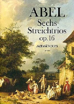 Carl Friedrich Abel - 6 String Trios Op.16 - Sheet Music - di-arezzo.com