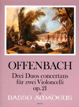 Jacques Offenbach - 3 Duos Concertants Op.21 - Partition - di-arezzo.fr