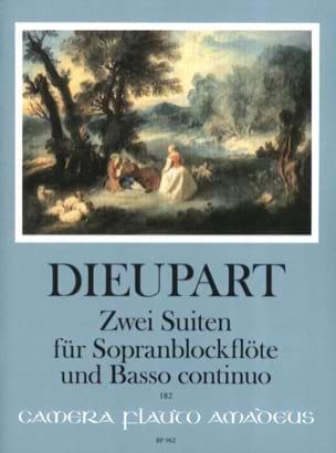 Charles François Dieupart - 2 Suiten für Sopranblockflöte u. Bc - Partition - di-arezzo.fr