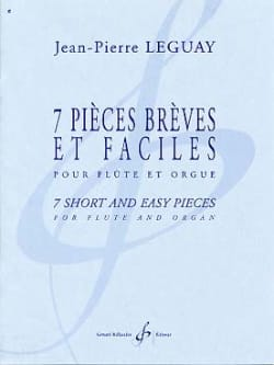 Jean-Pierre Leguay - 7 Short and easy parts - Sheet Music - di-arezzo.co.uk