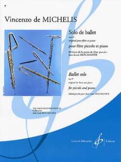 Vincenzo de Michelis - Solo de ballet op. 87 - PIccolo piano - Partition - di-arezzo.fr
