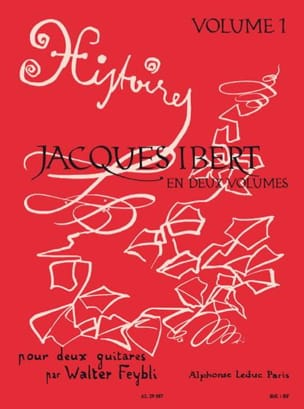 Jacques Ibert / Feybli Walter - Stories - Volume 1 - 2 guitars - Sheet Music - di-arezzo.com