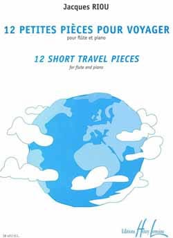Jacques Riou - 12 Small rooms to travel - Sheet Music - di-arezzo.com