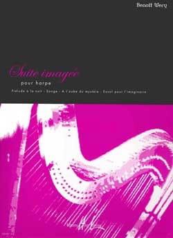 Suite imagée Benoît Wery Partition Harpe - laflutedepan