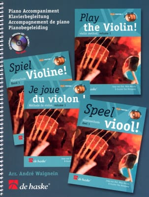 I Play Violin - Piano Accompaniment - Partition - di-arezzo.it