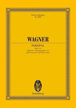 Parsifal WAGNER Partition Grand format - laflutedepan