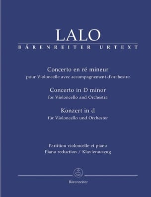 Edouard Lalo - Concerto in D Minor - Partition - di-arezzo.com