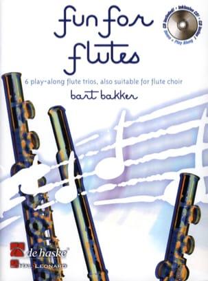 Bart Bakker - Fun for Flutes - Sheet Music - di-arezzo.co.uk