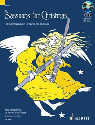 Bassoons for Christmas Turner Barrie Carson Partition laflutedepan