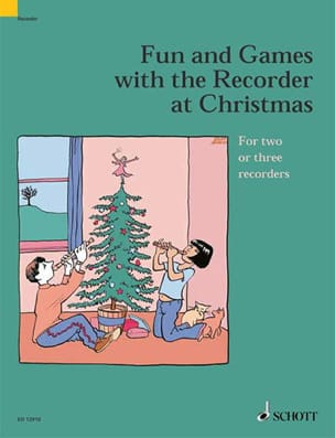 Traditionnels - Fun and games with the recorder at Christmas - Sheet Music - di-arezzo.co.uk