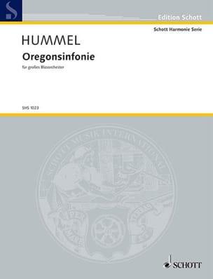 Oregon Sinfonie Opus 67 HUMMEL Partition Grand format - laflutedepan