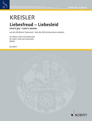 Fritz Kreisler - Liebesfreud - Liebeslied - Sheet Music - di-arezzo.co.uk
