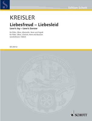 Fritz Kreisler - Liebesfreud - Liebeslied – Bläserquintett - Partitur + Stimmen - Partition - di-arezzo.fr