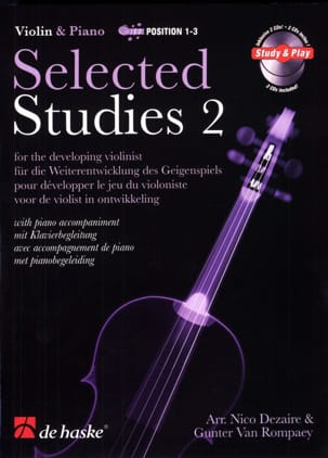 Dezaire Nico / Van Rompaey Gunter - Selected Studies Vol.2 - Sheet Music - di-arezzo.co.uk