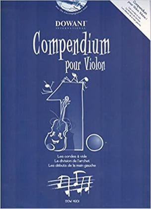 Compendium For Violin Volume 1 - Partition - di-arezzo.com