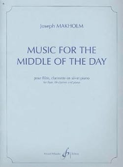 Joseph Makholm - Music for the Middle of the Day - Partition - di-arezzo.fr