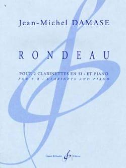 Jean-Michel Damase - Rondeau - Partition - di-arezzo.fr